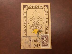 ICOLLECTZONE Boy Scout 1947 World Jamboree Postcard (D100)