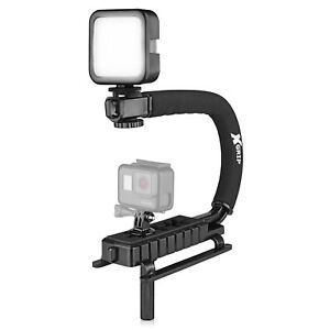 Opteka X-GRIP VLH-MOD Stabilizing Handle for GoPro HERO6 HERO5 HERO4 HERO3 HERO+