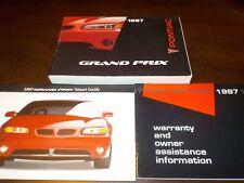 1997 Pontiac Grand Prix owners manual factory GM book 97 cars