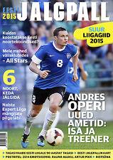Eesti Jalgpall Suur Liigagiid 2015 - Estonian Football Season Preview Magazine