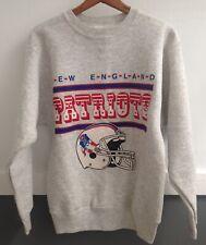 New England Patriots Vintage Champion brand Crewneck Sweatshirt m pat USA made