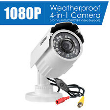 ZOSI 1080P 4-IN-1 HD 3.6mm TVI AHD CVI Analog Outdoor CCTV Security Dome Camera