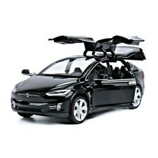 1:32 Diecast Tesla X Model SUV Car Toy Collection Racing Vehicles Toys For Kids