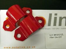 Anti roll bar d-bracket set, front, Mazda MX-5 mk1 & mk2 MX5 ARB clamps, red