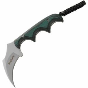 """CRKT Keramin Minimalist Hawkbill Neck Knife 2"""" Blade CR2389"""