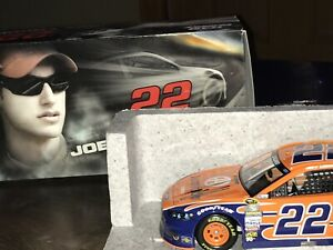 Joey Logano #22 Autographed 2015 Fusion 1 Of 651 Die Cast 1/25- H-55