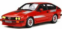 OTTO MOBILE 295 ALFA ROMEO GTV6 PRODUCTION resin model car Rosso red Ltd 1:18th