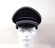 WWII German Elite Officer Wool Hat Officer Cap Black W badge