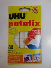 UHU. PATAFIX  80 Pastilles adhésives blanches
