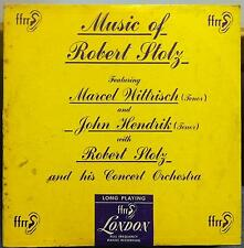 "Robert Stolz - Music Of 10"" LP VG LPS.157 UK FFrr 1950 Record"