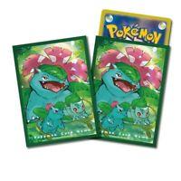Pokemon center JAPAN - Bulbasaur Venusaur Card Deck Shields (64 Sleeves)
