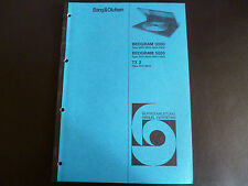 Original Serviceanleitung  Service Manual Bang & Olufsen Beogram 6000