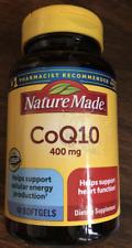 Nature Made 400mg CoQ10 40 Softgels 3/23