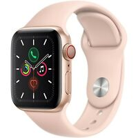 Apple Watch S5 40mm (GPS+Cell) Gold Aluminum Case With Pink Sport Band MWWP2LLA