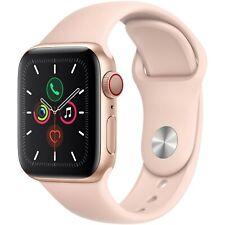 Reloj de Apple serie 5 40mm Dorado Caja De Aluminio Con Banda Deporte Rosa mwwp 2LLA