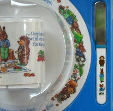 Service à déjeuner vintage pour enfant neuf sous blister