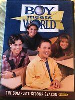Boy Meets World - The Complete Second Season (DVD, 2010, 3-Disc Set)