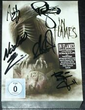 IN FLAMES - Sounds Of A Playground Fading SIGNED BOX-SET CD Autographed digipack