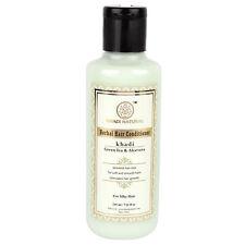 2 X 210ml Khadi Natural Herbal Greentea & Aloevera Hair Conditioner