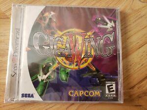 GigaWing (Sega Dreamcast, 2000). BRAND NEW/SEALED. SHOOTER. RARE.
