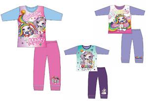 Girls Poopsie Slime Surprise Unicorn Pyjamas PJs Long Purple 4 5 6 7 8 9 10 Yrs