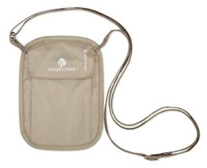Eagle Creek RFID Blocker Neck Wallet - Tan