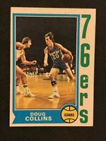 1974 Topps Doug Collins ROOKIE #129 **EX-NM**