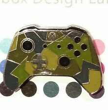 Xbox 360 One Controller Military Green Over Enamel Lapel Pin Emblem Badge Brooch