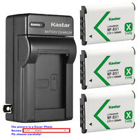 Kastar Battery Wall Charger for Sony NP-BX1 Cyber-shot DSC-RX100M6 (RX100 VI)