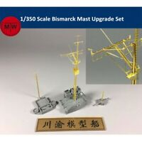 1/350 Scale Bismarck Mast Upgrade Set CYG012