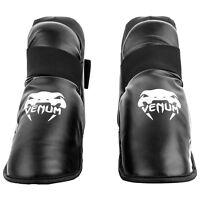 Venum Challenger Foot Guards Protectors BJJ Karate Martial Arts Thai Kickboxing