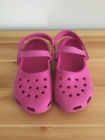 Crocs Classic Clogs Youth Kids Children's Shoes Slip On Pink Color Size 13