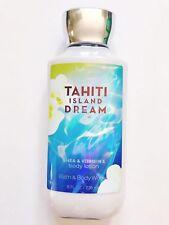 Bath & Body Works *Tahiti Island Dream* Lotion 8 Oz Signature Collection SEALED