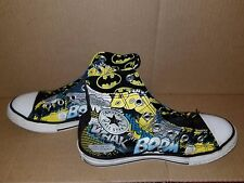 Batman Converse Chuck Taylors US Size 1  UK 13.5 EU 32 DC Comics Used 2011