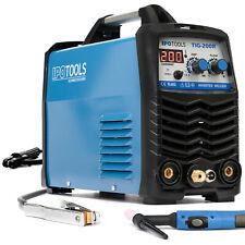 TIG-200R WIG Schweißgerät DC mit Digitalanzeige MMA E-Hand HF Zündung 200 Amper
