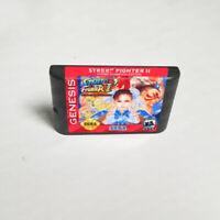 Street Fighter II: Hyper Champion Edition (1993) For Sega Genesis / Mega Drive