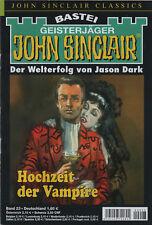 JOHN SINCLAIR CLASSICS Nr. 23 - Hochzeit der Vampire - Jason Dark - NEU