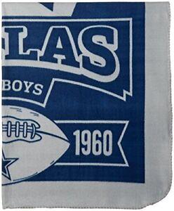 NFL Dallas Cowboys Marque Printed Fleece Throw 50 x 60 Dallas Cowboys 50 x 60