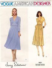1970's VTG VOGUE Misses' Dress Jerry Silverman Pattern 1927 Size 10 UNCUT
