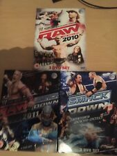 WWE DVD Bundle Best Of Raw & Smackdown 2009-2011