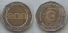 Algerien / Algeria 200 Dinars 2012 unz.