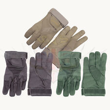 VIPER SPECIAL OPS SUEDE TACTICAL GLOVES ADJUSTABLE WRIST GREEN,BLACK,SAND-M,L,XL