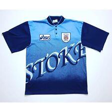 🔥Vintage Stoke City 1996/1997 Away Football Shirt ASICS - Size XL🔥