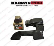 2011-2012 BMW E90 E92 E82 E88 Carbon Fiber Closed Intake Air Box Cover/ Filter