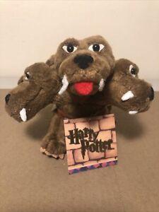 "GUND Harry Potter Plush Fluffy 3 Headed Plush Dog Stuffed Animal Small 5.5"" NWT"