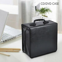 400 Disc CD DVD Carrying Case Bag Storage Holder Solution Binder Sleeves