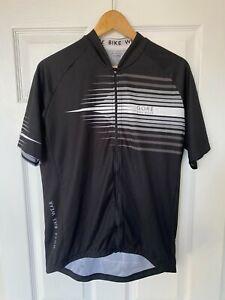 GORE Bike Wear Men's XXL Black Short Sleeve Full Zip Cycling Bicycle Jersey Top