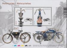 Canada 2013 #2646 - Motorcycles Souvenir Sheet - MNH - Value: $3.50