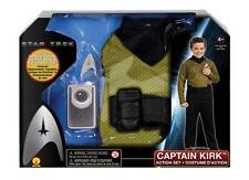 Set di azione di Star Trek-Kirk e Spock con distintivo della Flotta Stellare & Play comunicatore