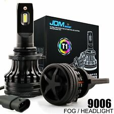 JDM ASTAR 2x 60W 10000LM 9006 HB4 LED Headlamp Low Beam Blub 6000K White For GMC